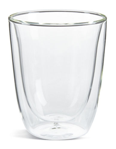 Trudeau Set of Two Short Double Wall Glasses-NO COLOUR-One Size