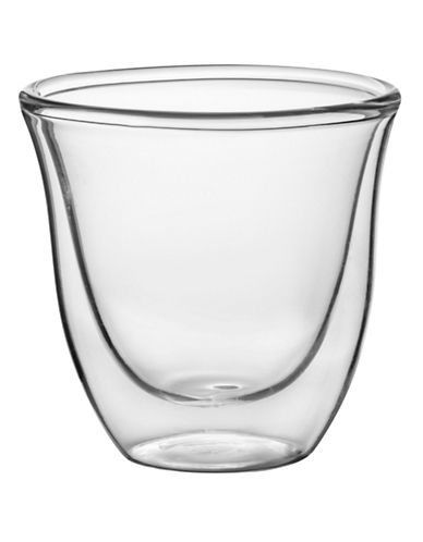 Trudeau Duetto Double Wall Espresso Cups Box of 2-CLEAR-One Size