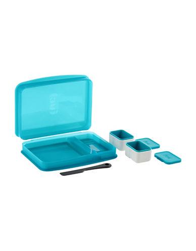 Trudeau Breakfast Bento-BLUE-One Size