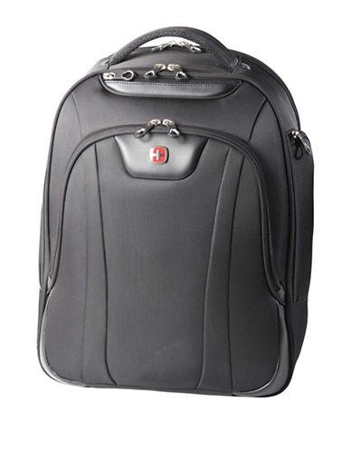 Swiss Gear Slim RFID-Blocking Backpack-BLACK-18