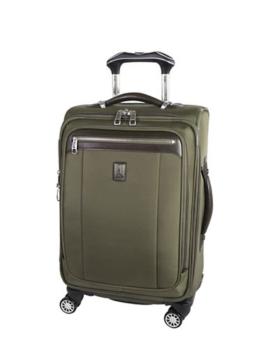Travelpro Magna 2 20-Inch Business Plus Spinner Suitcase-OLIVE-20