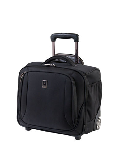 Travelpro Connoisseur 2 15-Inch Rolling Tote-BLACK-One Size