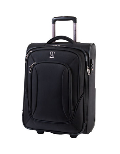 Travelpro Connoisseur 2 20-Inch Carry-On Suitcase-BLACK-20