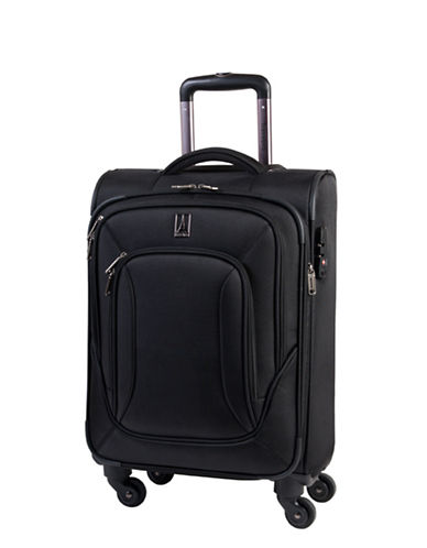 Travelpro Connoisseur 2 20-Inch Spinner Suitcase-BLACK-20
