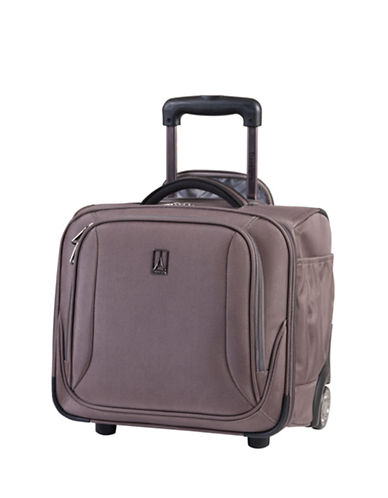 Travelpro Connoisseur 2 15-Inch Rolling Tote-MOCHA-One Size