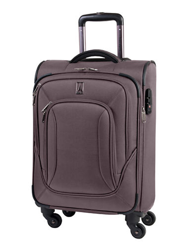 Travelpro Connoisseur 2 20-Inch Spinner Suitcase-MOCHA-20