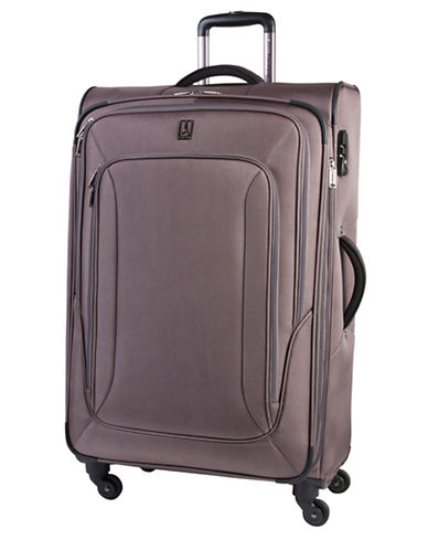 Travelpro Connoisseur 2 28-Inch Spinner Suitcase-BROWN-28