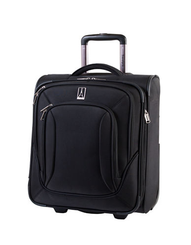 Travelpro Connoisseur 2 17-Inch Suitcase-BLACK-17