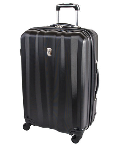 Atlantic Laser 24 Inch Suitcases-BLACK-24