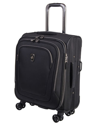 Atlantic Luggage Unite 2 20-Inch Carry On Suitcase-BLACK-20