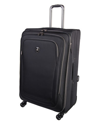 Atlantic Luggage Unite 2 29-Inch Expandable Spinner Suitcase-BLACK-29