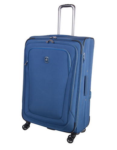 Atlantic Luggage Unite 2 29-Inch Expandable Spinner Suitcase-BLUE-29