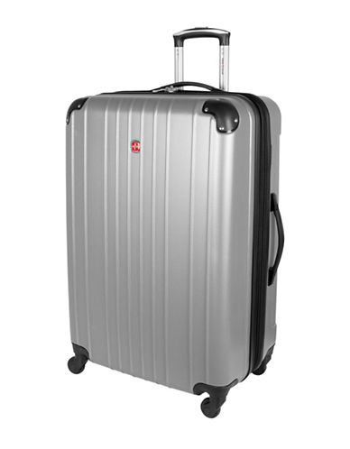 Swiss Gear Swiss Gear 28-Inch Passport Hard Side Luggage-SILVER-28