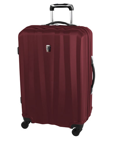 Atlantic Laser 24 Inch Suitcases-RED-24