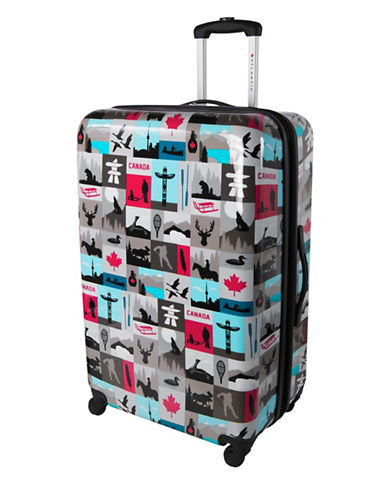 Atlantic Canadiana 28-Inch Hardside Spinner Suitcase-MULTI-28