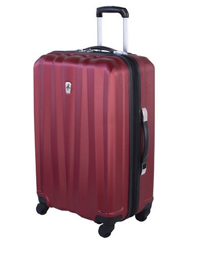 Atlantic Laser 24 Inch Suitcases-DARK RED-24