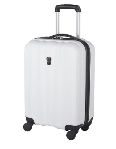 Atlantic Laser 20 Inch Suitcases-WHITE-20