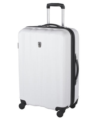 Atlantic Laser 24 Inch Suitcases-WHITE-24