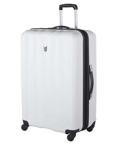 Atlantic Laser 28 Inch Suitcases-WHITE-28