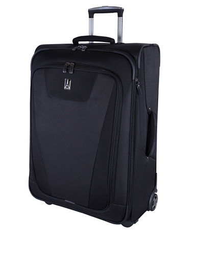 Travelpro Maxlite Black 26-Inch Expandable Rollaboard Suitcase-BLACK-One Size