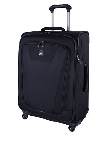 Travelpro Maxlite 4 25-Inch Expandable Spinner Suitcase-BLACK-25
