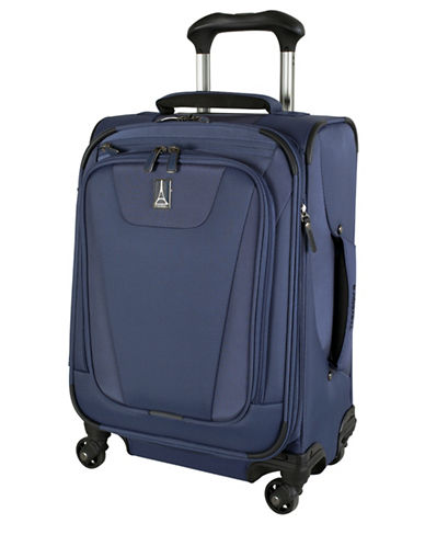 Travelpro Maxlite 4 International Carry-on Spinner Rollaboard Suitcase-BLUE-One Size