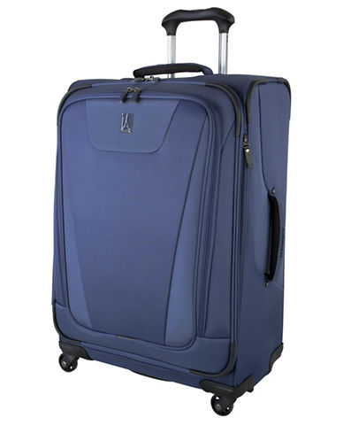 Travelpro Maxlite 4 25-Inch Expandable Spinner Suitcase-BLUE-One Size