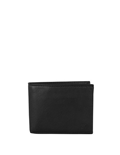 Swiss Wenger Boxed Leather Wallet with Removable Centre-BLACK-One Size