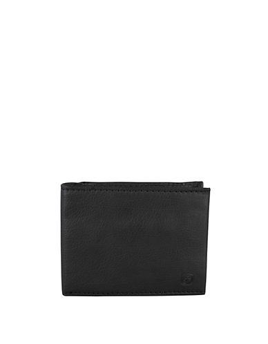 Swiss Wenger Boxed Leather Wallet with Removable ID Case-BLACK-One Size