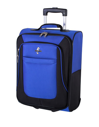 Atlantic Debut 20-Inch Softside Carry-On Trolley Bag-COBALT-20