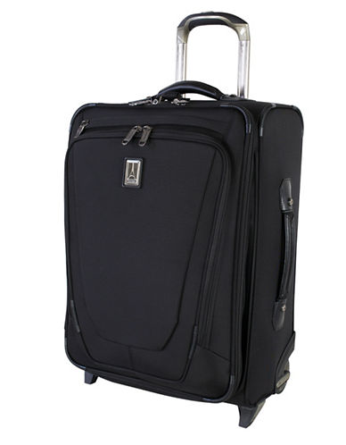 Travelpro Crew 11 20-Inch Expandable Business Plus Rollaboard-BLACK-20