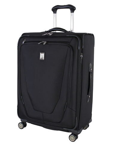 Travelpro Crew 11, 25-Inch Expandable Spinner-BLACK-25