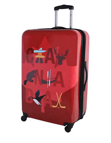 Atlantic Atlantic Iconic Collection 28-Inch Hard-Side Spinner-RED-28