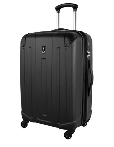 Travelpro Armoir Collection 24-Inch Expandable Upright Hardside Spinner TP25174-BLACK-24