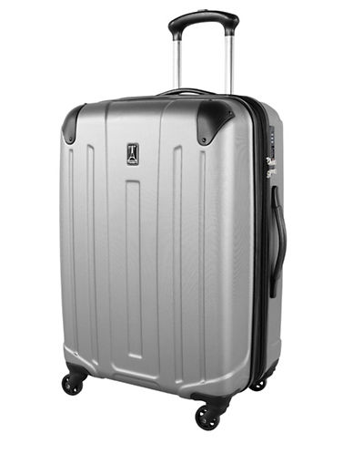 Travelpro Armoir Collection 24-Inch Expandable Upright Hardside Spinner TP25174-SILVER-24