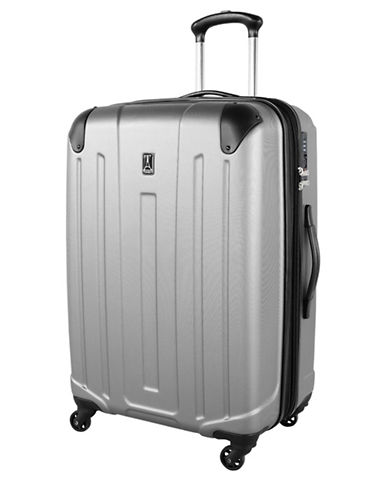 Travelpro Armoir Collection 28-Inch Expandable Upright Hardside Spinner TP25178-SILVER-28