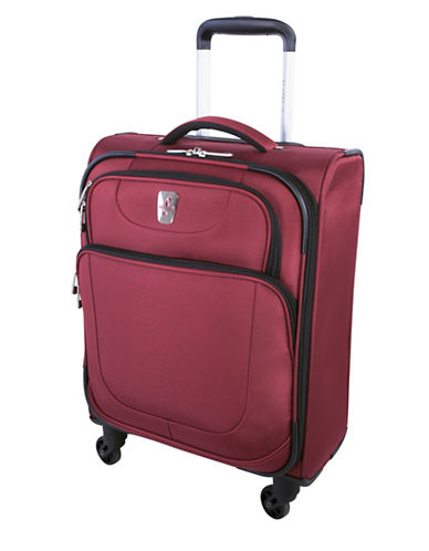 Atlantic Carry-On Spinner Suitcase-RED-18