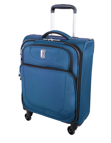 Atlantic Carry-On Spinner Suitcase-BLUE-18