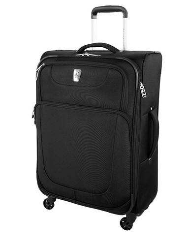 Atlantic Upright Spinner 24-Inch Suitcase-BLACK-24