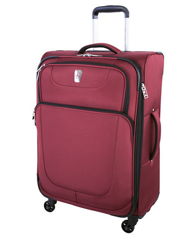 Atlantic Upright Spinner 24-Inch Suitcase-RED-24