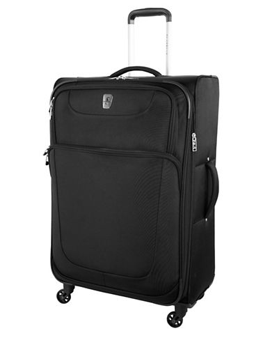Atlantic Express 28-Inch Spinner Suitcase-BLACK-28