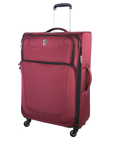 Atlantic Express 28-Inch Spinner Suitcase-RED-28