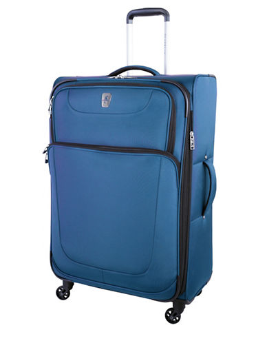 Atlantic Express 28-Inch Spinner Suitcase-BLUE-28