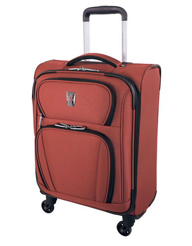 Atlantic Volare Carry-On Spinner Suitcase-ORANGE-18