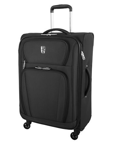 Atlantic Volare 24-Inch Spinner Suitcase-BLACK-24