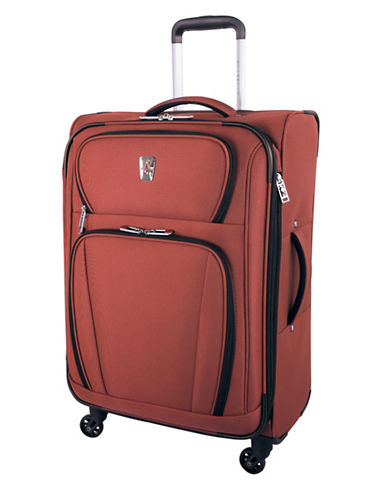 Atlantic Volare 24-Inch Spinner Suitcase-ORANGE-24