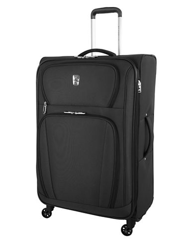 Atlantic Volare 28-Inch Spinner Suitcase-BLACK-28