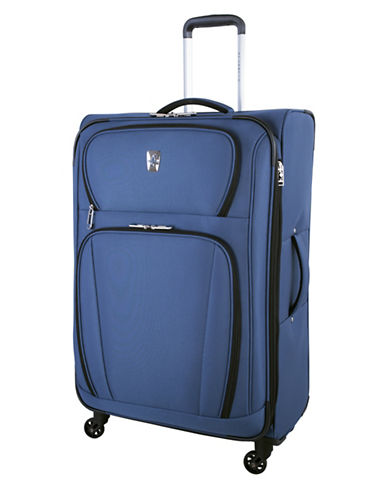Atlantic Volare 28-Inch Spinner Suitcase-NAVY-28