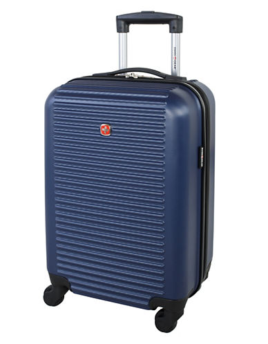 Swiss Gear Platthorn 19-Inch Hardside Spinner Suitcase-BLUE-19