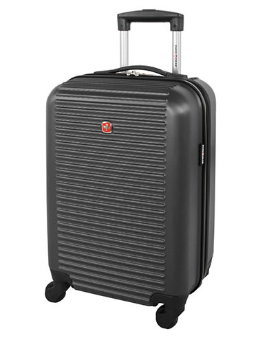 Swiss Gear Platthorn 19-Inch Hardside Spinner Suitcase-CHARCOAL-19